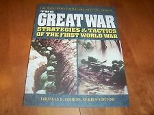 THE GREAT WAR Strategies & Tactics First World War West Point Military Book NEW