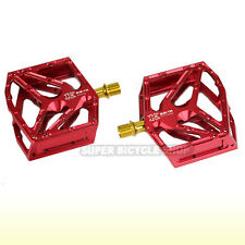 KCNC STEADY CNC Bearings Pedals , Red
