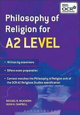Philosophy of Religion for A2 Level by Michael B. Wilkinson, Hugh N. Campbell...
