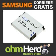SLB-10A Batteria Alta Qualità per Samsung WB150F, WB250F, WB350F, WB500,