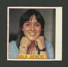 Anja Jaenicke TV Film Actress  - Rare Card from Germany Tatort