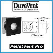 "DURAVENT PELLETVENT PRO Pipe 3"" Diameter Wall Thimble #3PVP-WT NEW!"