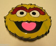 Oscar the Grouch belt buckle Sesame Street character to attach to own belt New