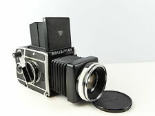 ROLLEIFLEX SL66 6X6 120 FILM MEDIUM FORMAT FILM CAMERA 80MM 2.8F PLANAR LENS
