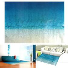 Sea Beach Floor Wall Stickers Removable Bathroom Living Room Home Decor DIY