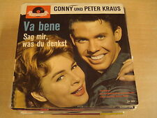 45T SINGLE / CONNY UND PETER KRAUS - VA BENE