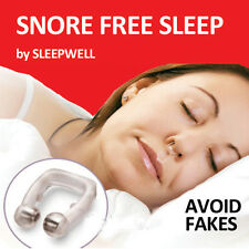 ANTI STOP SNORING FREE NOSE CLIP WITH MAGNETIC THERAPY NIGHT SLEEPING AID TOOL