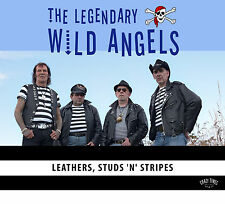 CD The Wild Angels - LEATHERS, STUDS 'N' STRIPES -TED TEDDY BOYS NEW 2016 ALBUM
