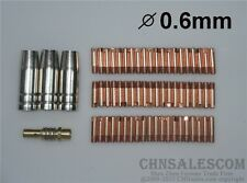 64 PCS MB-15AK Contact Tip 140.0008 Gas Nozzle 145.0075 TIP Holder 002.0078