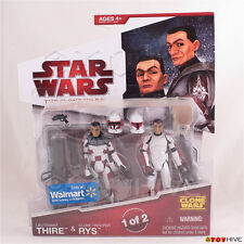Star Wars The animated Clone Wars 2008 Lt. Lieutenant Thire & Clone Trooper Rys