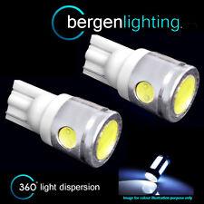 2x W5W T10 501 Xenon Bianco 3 LED SMD Luce Laterale Lato Lampadine HID sl101105