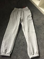 Boys Nike Tracksuit Bottoms Grey Age 8-10 Years.