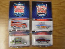 HOTWHEELS Nationals Convention 2014 VW Ghostbusters Challenger Barracuda 4 cars