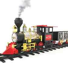 MOTA Classic Toy Train with Real Smoke - Signature Lights and Sounds - Full Set