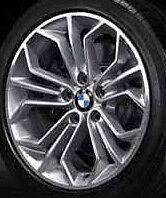"""BMW OEM E84 X1 SUV 18"""" LA Wheel Honeycomb Styling 323  Set of 4"""