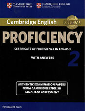 Cambridge English PROFICIENCY 2 with Answers CPE ESOL Examination NEW, Book only