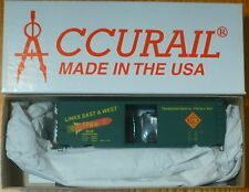 Accurail HO #1593 TP&W ( PS-1 Steel Box car ) Kit Form