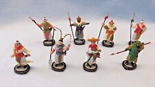 Marx vintage complete set of 8 Chinese Warriors of the World- EXCELLENT