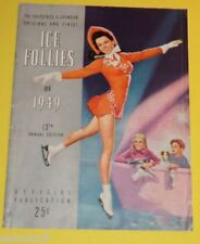 Ice Follies of 1949 program Great Pictures! Nice SEE!