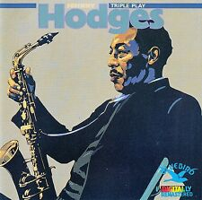 Johnny Hodges: triple play/CD-COMME NEUF