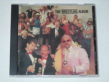 WWF THE WRESTLING ALBUM CD SONY MUSIC 1985 WWE RARE