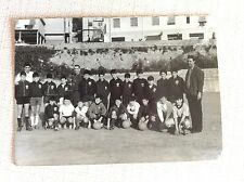 GENOA 1893 ANNI '60 FOTO SQUADRA CALCIO SCHIERATA GIOVANILE RAGAZZI