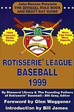 Rotisserie League Baseball: The Official Rule Book and Draft Day Guide (Rotisser