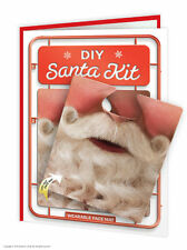 Brainbox Candy funny humorous 'DIY Santa Kit' christmas xmas card & face mat