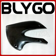 Black Plastic Front LEFT Tank Side Guard Fender KLX110Style PIT Trail Dirt Bike