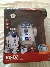 Star Wars The Force Awakens Remote Control Interactive Robotic R2-D2 Droid