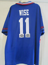 Chelsea 1994-1995 Wise 11 Home Football Shirt Size Adult XL /39746