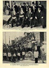 Die 600jährige Jubelfeier der Schützengilde in Duderstadt* Bilddokument 1902
