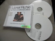 LIONEL RICHIE & DER THE COMMODORES DEFINITIVE 2 CD TANZEN AUF CEILING HELLO EASY