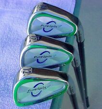NEW PURESPIN KEVLAR FAT SHAFT WEDGE SET  52, 56, 60 DEGREE