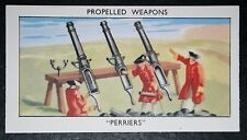 PERRIERS    Coastal Defence Artillery       Illustrated Card   VGC