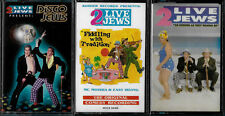 TWO LIVE JEWS - DISCO JEWS, AS KOSHER, FIDDLING -  (3) CASSETTE TAPES - SEALED