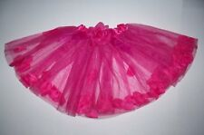 HOT PINK TUTU PETTISKIRT SKIRT CHILD SMALL COSTUME DANCE BALLET DRESS UP