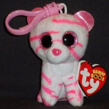 TY BEANIE BOOS - ASIA the TIGER KEY CLIP - MINT w/ TAG - EUROPE EXCL - PLS READ