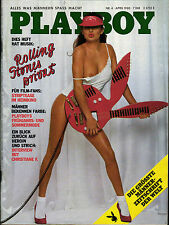 1  PLAYBOY D 4/1980 April - Rolling Stones + Interview Christiane F. Bahnhof Zoo