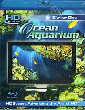 HDScape OCEAN AQUARIUM: VIRTUAL EXOTIC TROPICAL REEF FISH RELAXATION (Blu-ray)