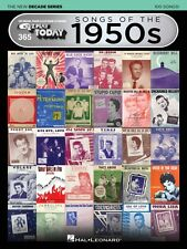 Songs of the 1950s The New Decade Series Sheet Music E-Z Play Today Vo 000159571