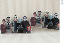 Icons of Horror Planar Resin flatback 50 x 30mm (pack of 5) Freddie Kruger