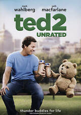 Ted 2,Excellent DVD, Jessica Barth, Morgan Freeman, Seth MacFarlane, Amanda Seyf