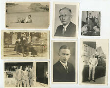 LOT OF 16, PORTRAITS OF PUSCH   GAUDIAN FAMILY, OHIO   LINDEN, NJ, VINTAGE PHOTO