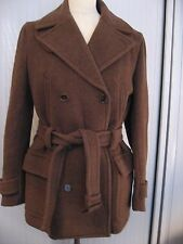 NWOT Ralph Lauren Blue Label 100 % virgin wool coat trenchcoat
