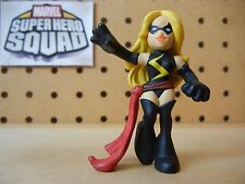Marvel Super Hero Squad RARE Ms Marvel from Wave 4 Avengers Assemble Pack