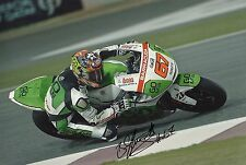 "Bryan staring main signé MOTO GP 2013 go & fun Honda Gresini photo 12x8 ""B"