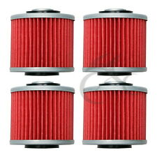 4 X Oil Filter For YAMAHA XV400 XVS400 XVS650 V STAR XV535 VIRAGO New