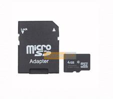 Carte Mémoire MicroSD 4GB Noir compatible GPS MIO Spirit 685