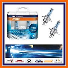 2X Osram Cool Blue Intense H4 4000k Xenon Look Halogenbirnen 12V 60/55W